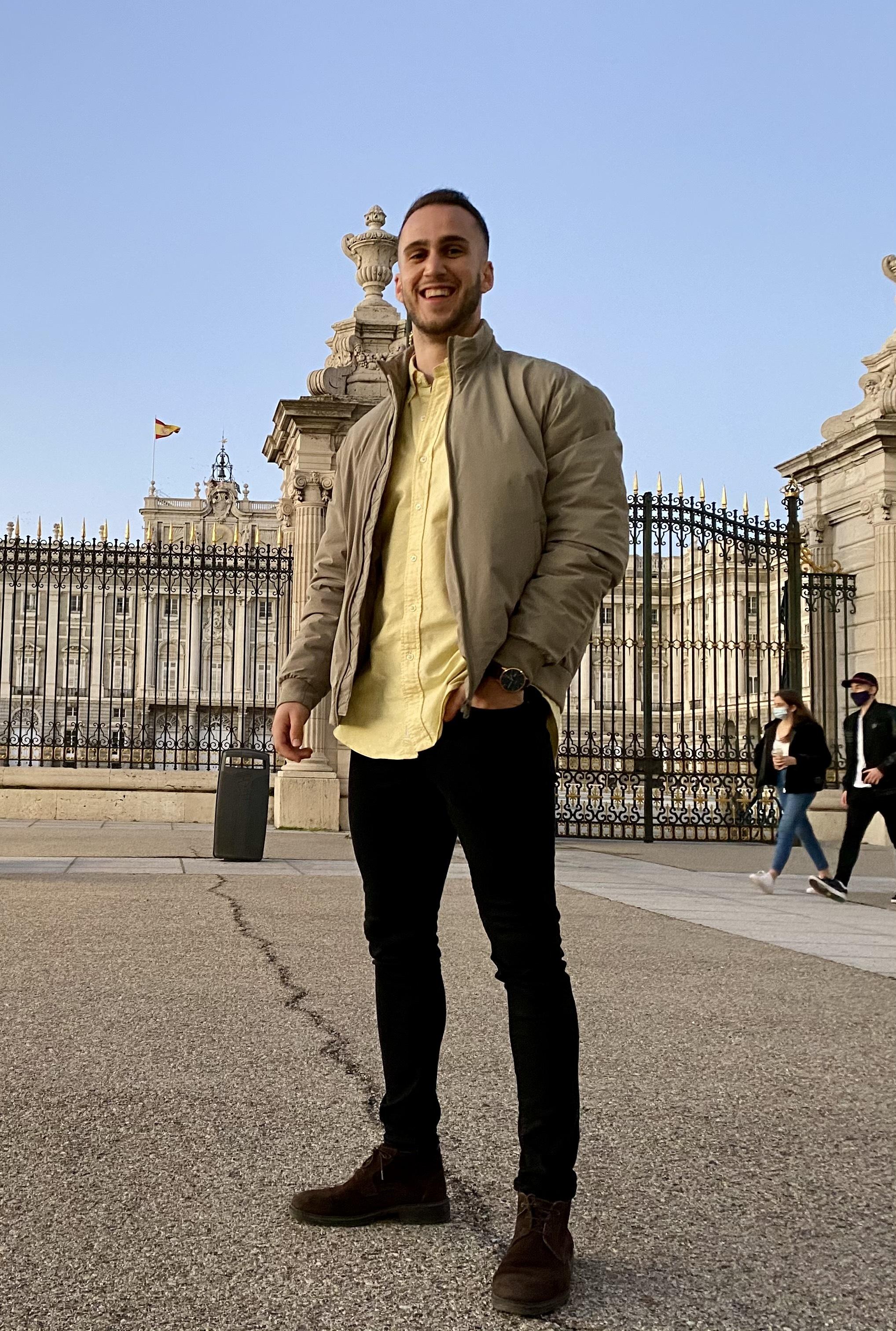 Daniel en Madrid